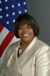 Ambassador Suzan Johnson Cook, 3rd Ambassador at Large for International Religious Freedom for the United States of America.